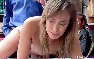 Asian Mom Saves Stealing Daughter's Ass- Christy Love