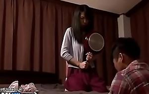 Japanese Milf has sexual congress with pervert stranger