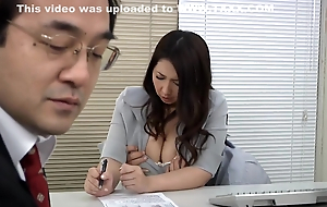 Erotic Asian Secretary Banged