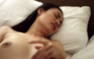 Dumb Thai wife Noi - fingering this slut's wet pussy