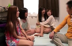 Amazing Japanese slut Uta Kohaku, Haruki Sato, Ayaka Tomada, Hibiki Otsuki in Horny gangbang, group sex JAV scene
