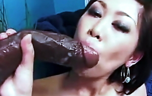 Asian: I love big black dick!