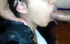 Desi village woman gives hard blowjob