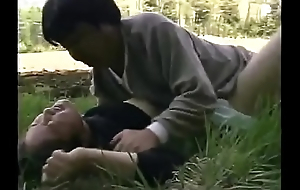 Forced fuck brother's wife at field