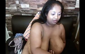 Hindi girl Tasha is huge bbw milf teasing on cam