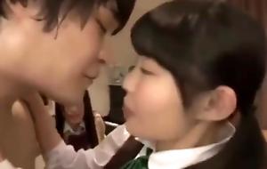 A lucky guy fucks a whole Japanese family