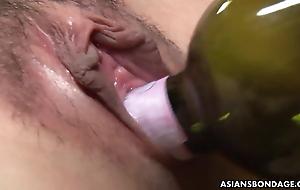 Japan uncensored BDSM session.