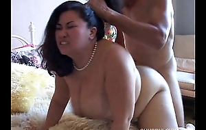 Tyung is a squeamish asian bbw with gorgeous large Bristols