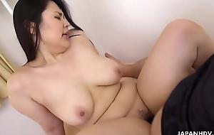 Japanese plumper, Shizuka  had sex, greatest broadness
