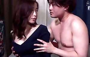 Japanese stepmom gets her nice ass pounded by hornyass stepson hd