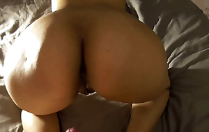 Indian girl dominated with cum greater than ass